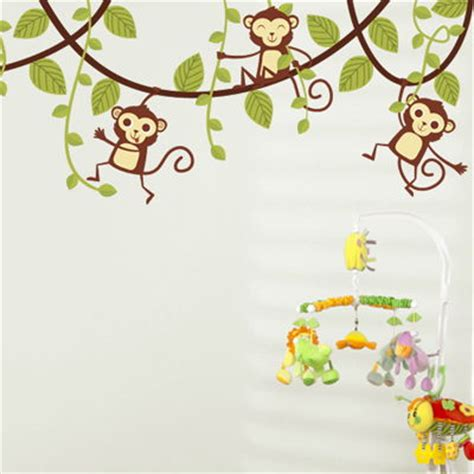 dali 16 art stickers 0486410749 monkeys swinging on vines set of 5 printed wall decals stickers graphics