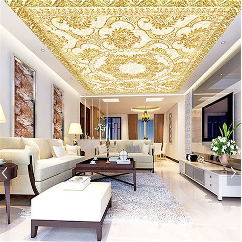 3d european style wall paper murals home decorate ceiling