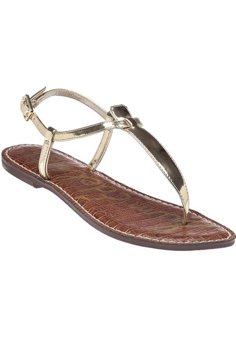 sam edelman gold sandals sam edelman gigi gold liquid sandal in gold gold leather
