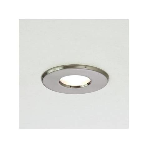 Astro Lighting 5660 Kamo Brushed Nickel Bathroom Downlight Ip65 Bathroom Lights