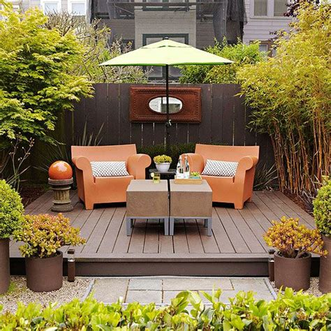Small Space Patio Furniture by Small Simple Outdoor Living Spaces Outdoor Living