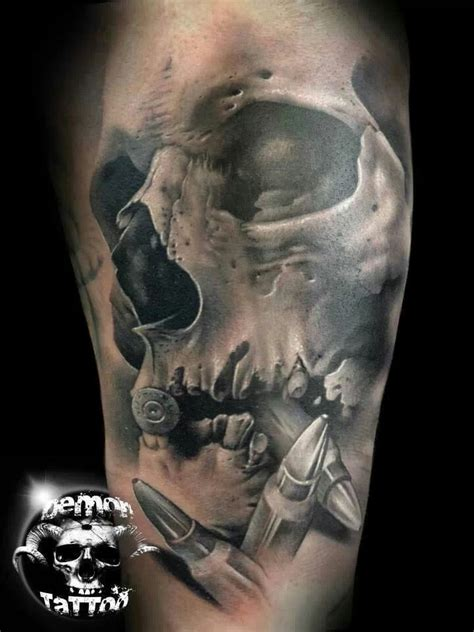 tattoo gallery picture skull demon tattoos and designs page 182