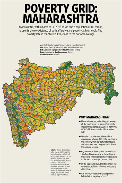 Spatial poverty in Maharashtra - Livemint