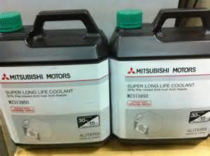 Mitsubishi Genuine Coolant Mitsubishi Motors Coolant Selangor End