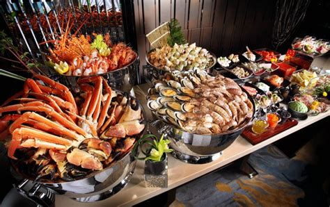 seafood buffet at the a day to starts what of seafood cuisines that satisfied seafood