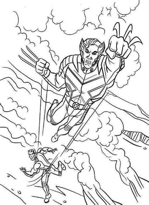 Coloring Pages For Guys free printable x coloring pages for