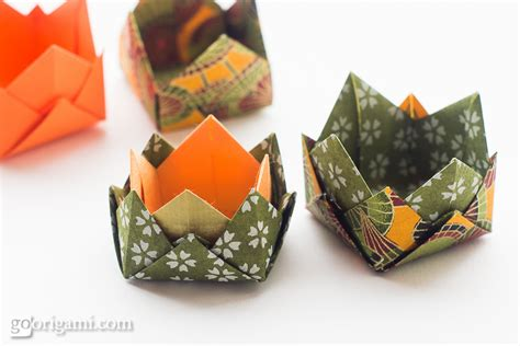Origami Dish - origami boxes and dishes gallery go origami