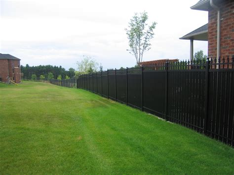 Amazing Backyards 4 privacy fence dividing subdivision aluminum railings
