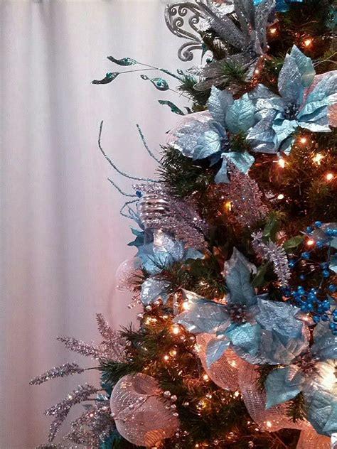 seasontry teal christmas tree