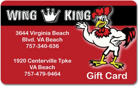 Gift Card Kings - wing king e gift card