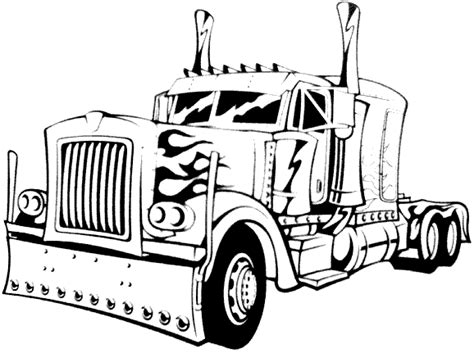 14 Printable Pictures Of Semi Truck Free Page Print Semi Truck Coloring Pages