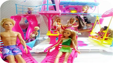 barbie ship videos barbie sisters cruise ship barbie kız kardeşlerin parti