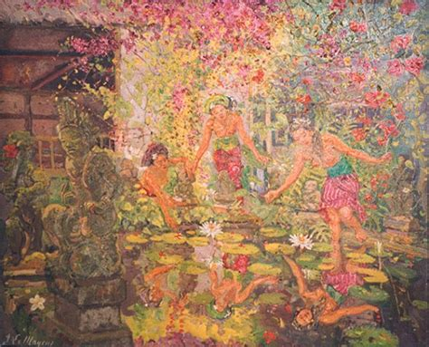 Lukisan Adrien Jean Le Mayeur De Merpres De Meisje Bali In Morgen adrien jean le mayeur de merpres geringer ltd