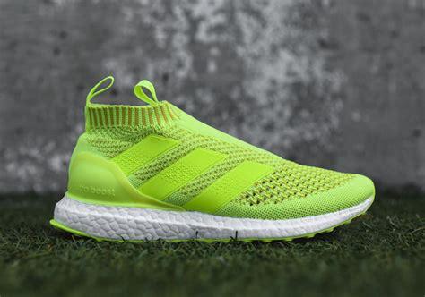 Sepatu Adidas Ultra Boost Ace16 Black Hitam adidas ace 16 purecontrol fg fluorescent green black