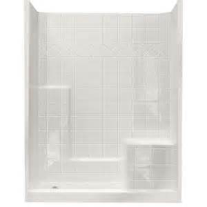 ella standard 32 in x 60 in x 77 in walk in shower kit
