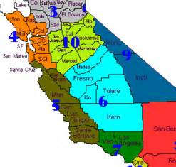 mid california map central california map my