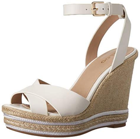 70570 white sandal import aldo s clodia espadrille wedge sandal white 11 b
