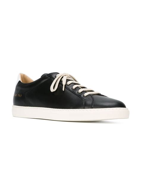 by common projects sneakers lyst common projects achilles leather low top sneakers
