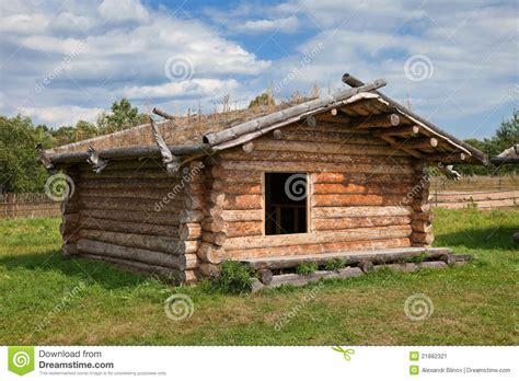 casas rusas casa de madera rusa tradicional antigua imagen de archivo