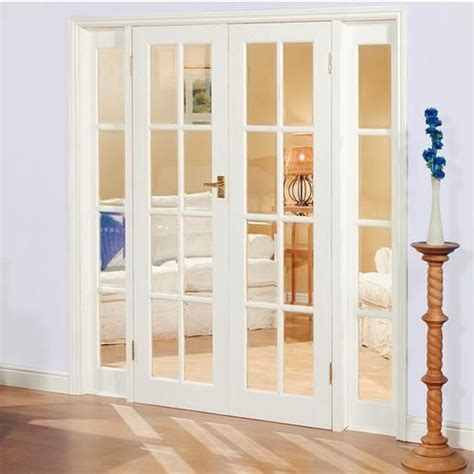 french door designs large image of newland pine french doors demi panel