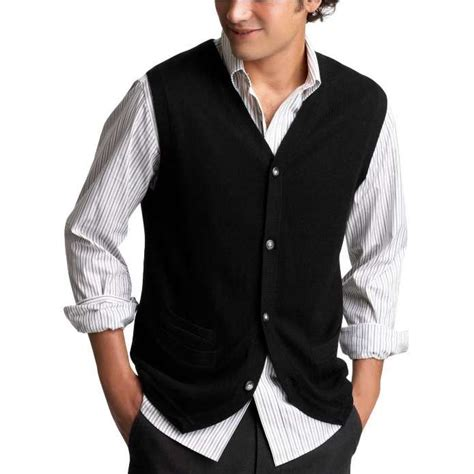 Gap men s button front merino vest thisnext