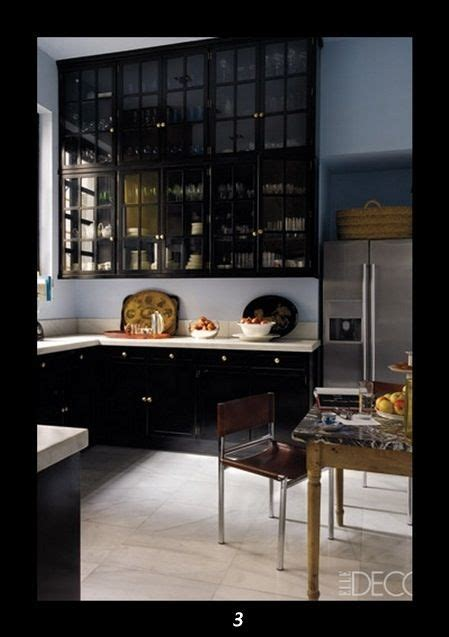 black kitchen cabinets house projects pinterest