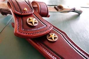 Custom Made Handmade Custom Leather Knife Sheath By Strong