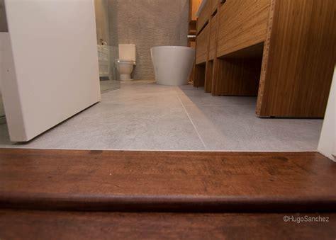 Douche A L Italienne Sur Plancher Bois #15: Bathroom-wood-door-sill-1024x733.jpg