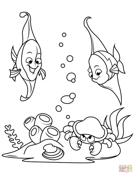 ghost crab coloring page free coloring book pages find print and color for crab