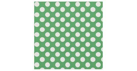 kaos essensial white green polka green and white polka dot fabric zazzle