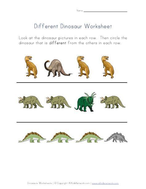 Dinosaur Worksheets by Printable Dinosaur Worksheets For Kindergarten Dinosaurs