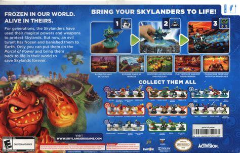 Skylander Spyros Adventures Wii skylanders spyro s adventure 2011 wii box cover mobygames