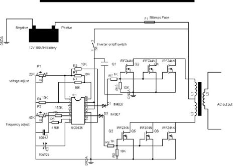 circuit diagram of 600va inverter new wiring diagram 2018