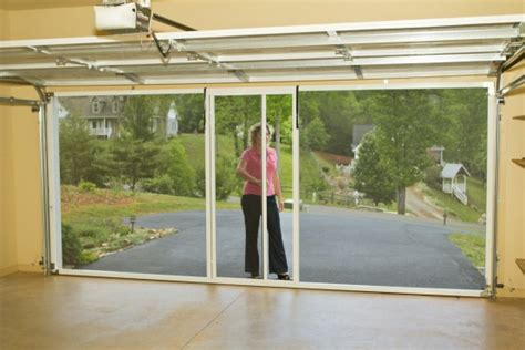 Screen For Garage Door Opening by Screen Doors For Garage Door Opening Smalltowndjs