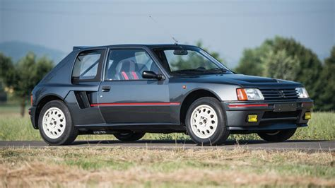 peugeot 205 t16 this stunning peugeot 205 t16 is up for auction and you