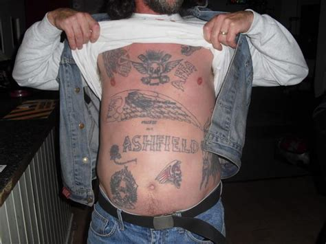 hells angels tattoos pics hells ashfield