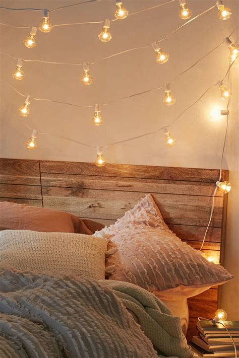 string lights living room stylish dorm room decor ideas southern living