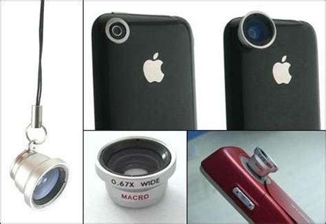 iphone camera lenses: professional peripherals for mobile
