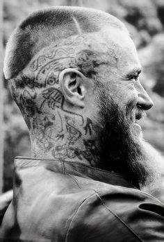 what are the tatoos on ragnars head of vikings on pinterest lagertha vikings and travis fimmel