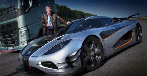 koenigsegg top gear tiff needell races a volvo truck against the koenigsegg