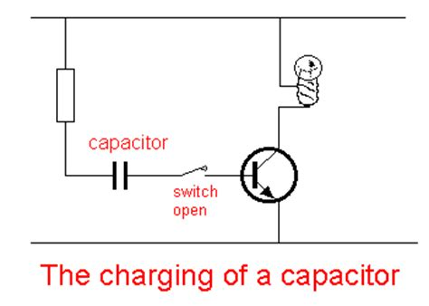 charging capacitor animation talking electronics bec page 16