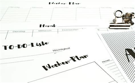 monatsplan zum ausdrucken kalender