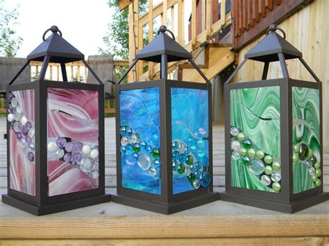 mini stained glass table ls 22 best images about lanterns on salts