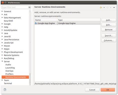 ubuntu manual eclipse install apache2 install tomcat server 8 on eclipse luna running