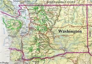 Washington Mountains Map by Map Of Cascade Mountain Range Galleryhip Com The