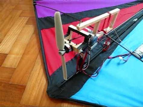 diy rc vector kite youtube