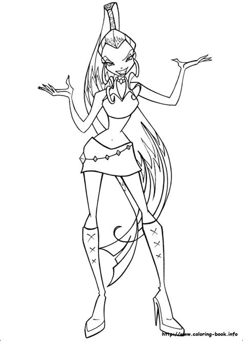 Colouring Pages The Winx Club Fan Art 23364751 Fanpop Winx Coloring Pages