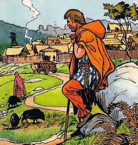 hutte gauloise dessin histoire des gaulois aux romains mus 233 e les sources d