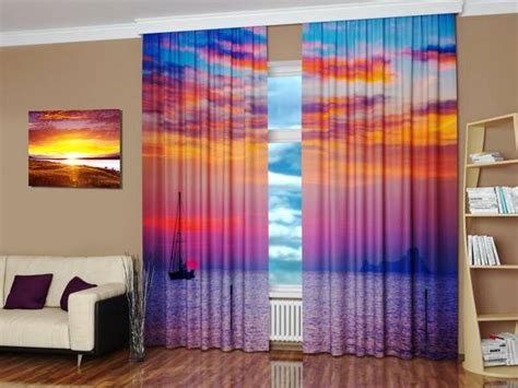 digital windows digital printing and colorful photo curtains bringing