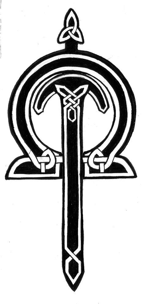 celtic sword tattoo sketch your mind on my mind